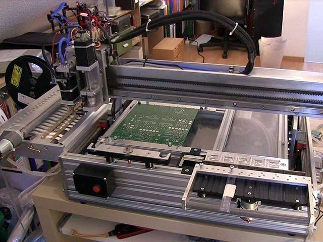 دستگاه تولید برد الکترونیکی